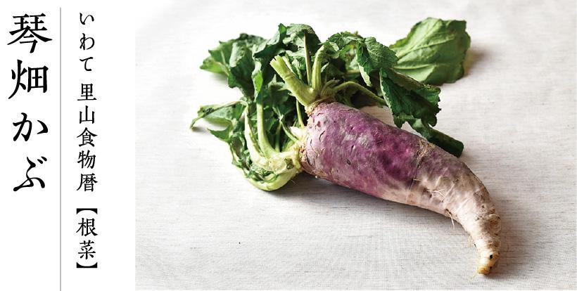 いわて 里山食物暦【根菜】琴畑かぶ